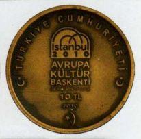 İstanbul 2010 Avrupa Kültür Başkenti Bronz Hatıra Parası