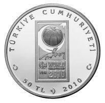 2010 FİBA Dünya Basketbol Şampiyonası Gümüş Hatıra Parası