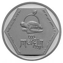 2013 Mersin XVII. Akdeniz Oyunları Gümüş Hatıra Parası
